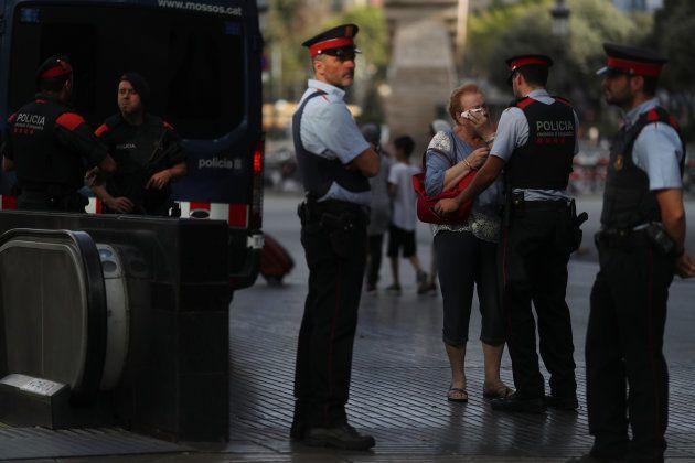 Les Mossos au cœur du bras de fer entre la Catalogne et