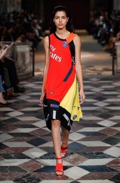 Le PSG s'invite à un défilé de la Fashion