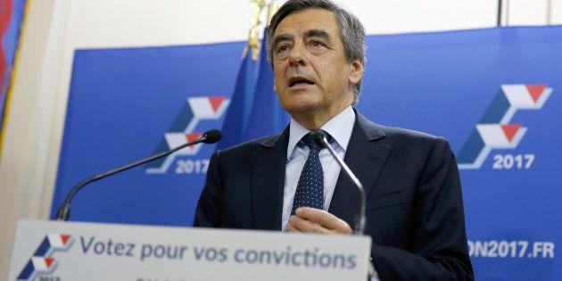Francois Fillon pourrait faire face à Marine Le Pen au second tour de l'élection présidentielle 2017