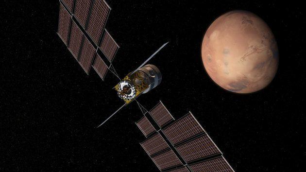 Le module de transport, imaginé par Boeing, qui se baladerait entre la station lunaire et