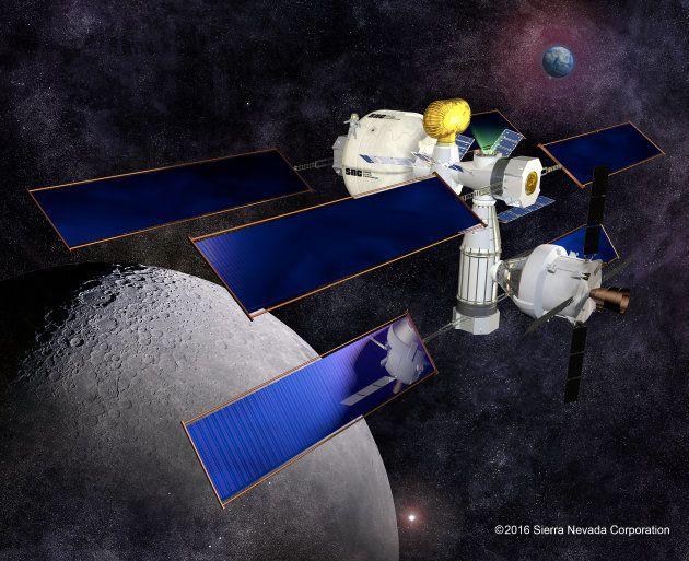 A quoi pourrait servir (et ressembler) la Station spatiale lunaire