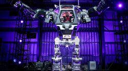 C'est bien le patron d'Amazon aux commandes de ce robot