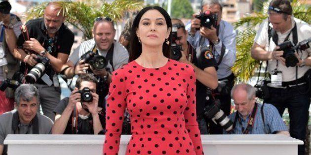 Monica Bellucci au Festival de Cannes en