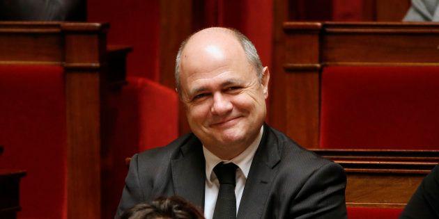 Bruno Le Roux à l'Assemblée nationale en février