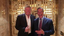 Trump voit bien Farage en ambassadeur, les internautes