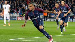 Ce but de Dani Alves pendant PSG-Bayern que de nombreux abonnés Canal ont ragé d'avoir