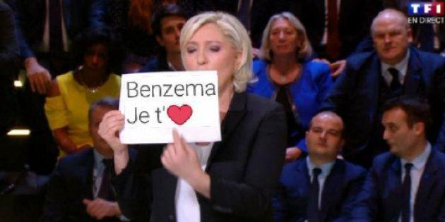 Au grand débat de la présidentielle sur TF1, Marine Le Pen n'aurait pas dû brandir une