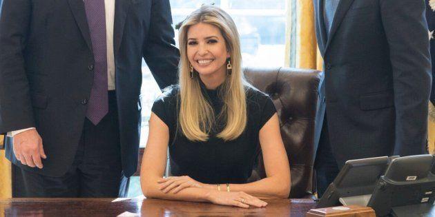 Ivanka Trump décroche un bureau à la Maison