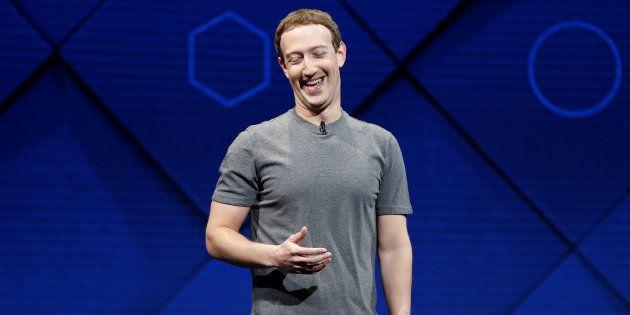 Mark Zuckerberg à San José le 18 avril