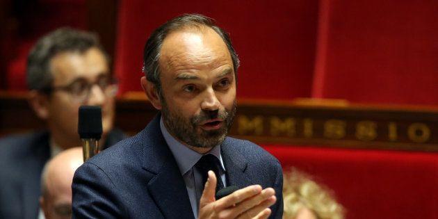 Edouard Philippe à l'Assemblée nationale le 26 septembre