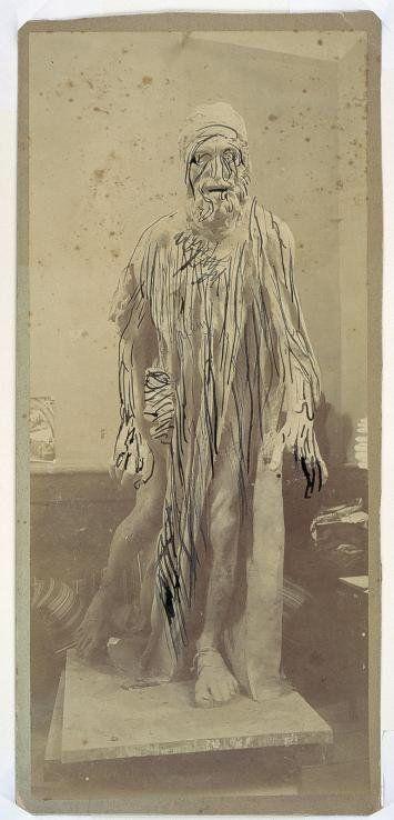 Une photographie de Victor Pannelier retouchée par Auguste