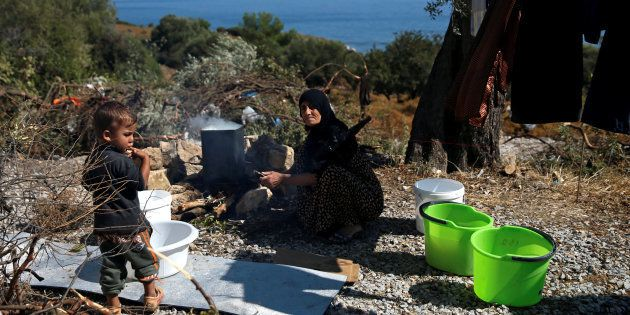 Pour aider les réfugiés, la désobéissance est justifiée. REUTERS/Alkis Konstantinidis/File