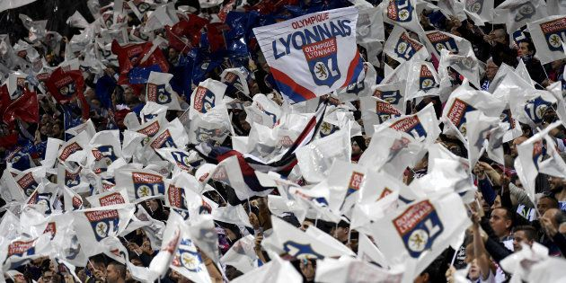 Les Lyonnais - ici le 2 décembre au Parc OL - ont passé leur temps à chambrer le public