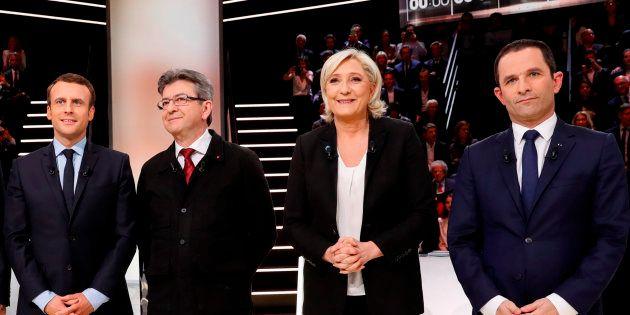 Les candidats à la présidentielle ne doivent pas être tétanisés face à Marine Le Pen. REUTERS/Patrick