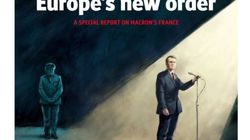 Merkel dans l'ombre et Macron dans la lumière, la