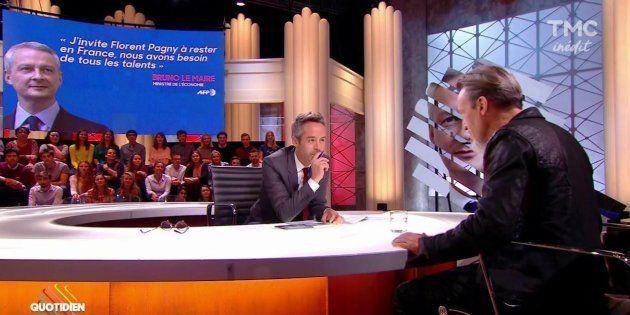 Le journaliste accusé par Florent Pagny lui a répondu dans une