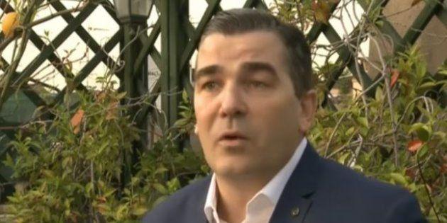 Frédéric Chatillon lors d'une interview sur LCI en avril