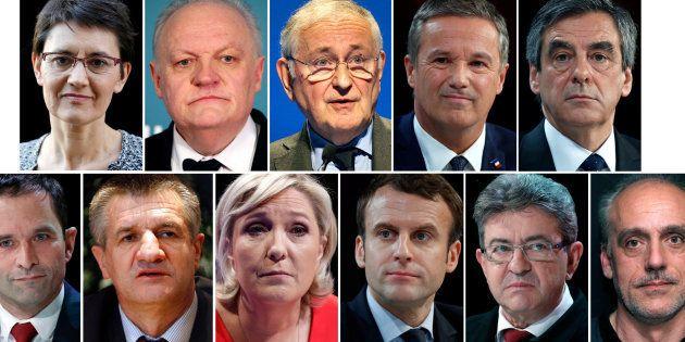 Les 11 candidats à l'élection présidentielle