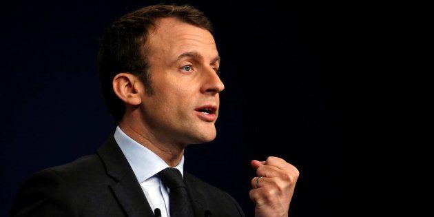 Emmanuel Macron à Reims le 17 mars