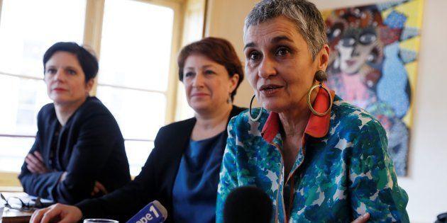 SandrineRousseau (à droite) quitte la direction d'EELV pour se consacrer à la lutte contre les violences
