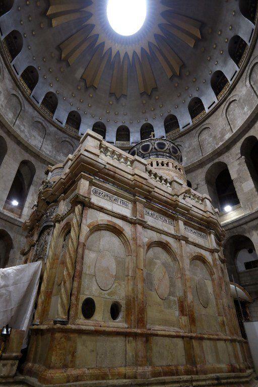 Le tombeau du Christ dévoilé après