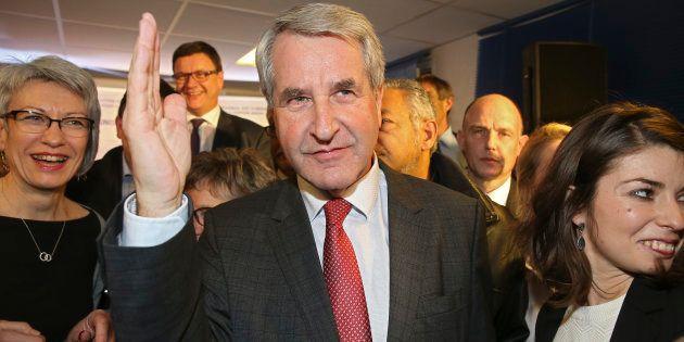 Philippe Richert, ici le soir du second tour des élections régionales, le 13 décembre 2015 à