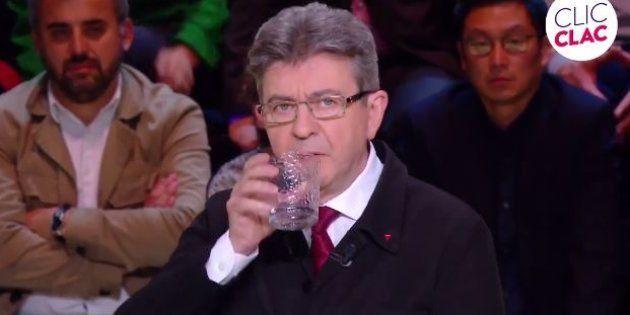 Jean-Luc Mélenchon lors