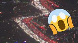 Les embouteillages à Paris sont pénibles? Ces images de Los Angeles font