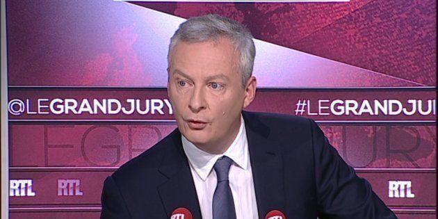 Le ministre de l'Economie Bruno Le