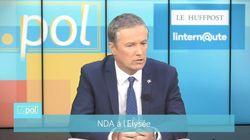 Affiches contre le sida: Dupont-Aignan refuse la