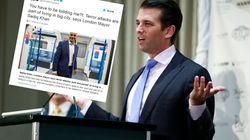Donald Trump Jr. a-t-il voulu concurrencer son père avec ce tweet polémique sur l'attentat de