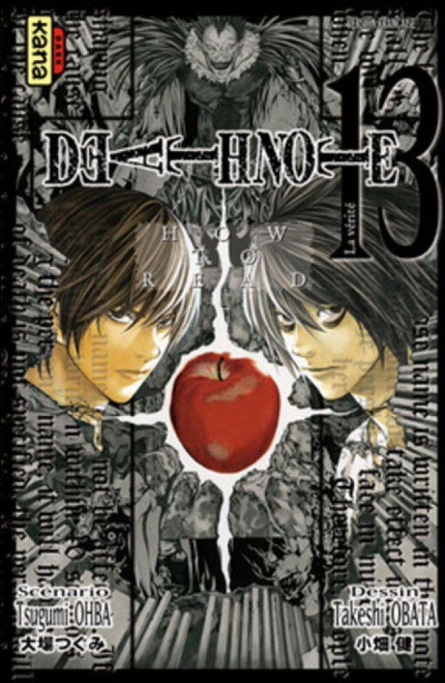 La couverture du tome 13 de manga original
