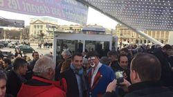 Florian Philippot et Samy Naceri sont allés soutenir Marcel Campion place de la