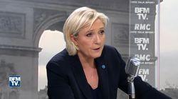 Comment Marine Le Pen tente de justifier la présence de Chatillon à ses