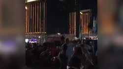 Les spectateurs filmaient le concert quand la fusillade à Las Vegas a