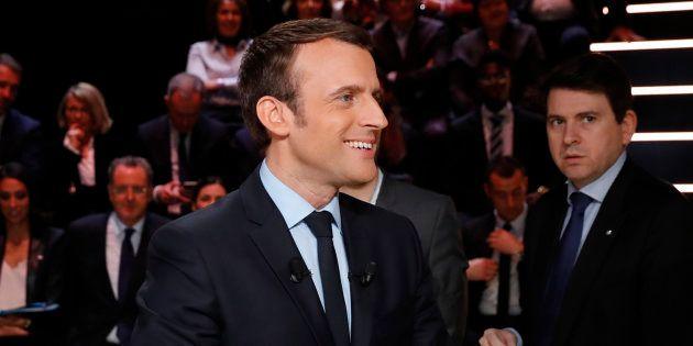 Pourquoi Emmanuel Macron a marqué des points pendant le débat. REUTERS/Patrick