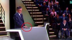 Fillon dément avoir reçu des SMS pendant le débat sur TF1: et