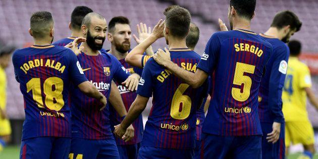 Le FC Barcelone se met en grève après les violences policières en