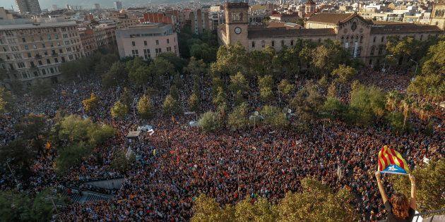La Catalogne en grève générale mardi, le mouvement suivi par le Barça et la Sagrada