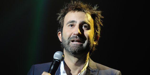 L'acteur Mathieu Madénian lors de la cérémonie de cloture du 16ème festival de la fiction télé à La Rochelle...