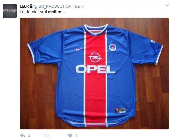 Le nouveau maillot du PSG a-t-il