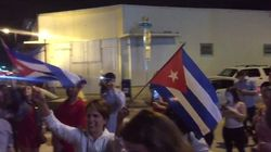 En Floride, les Cubains célèbrent la mort de Fidel