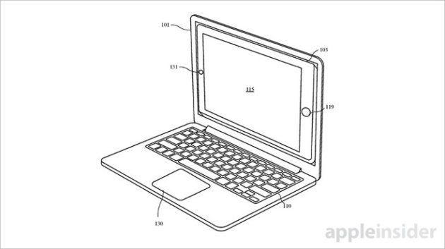 Le schéma du projet d'Apple pour