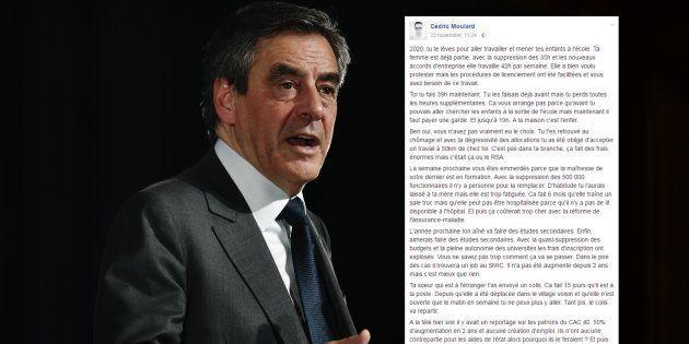 François Fillon en meeting à Paris le 25