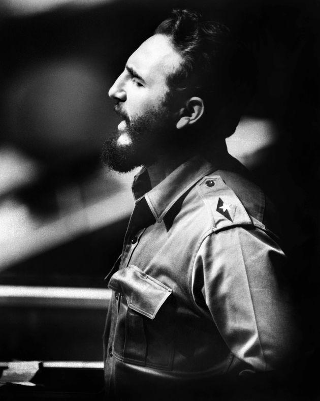 Fidel Castro à New York le 26 octobre