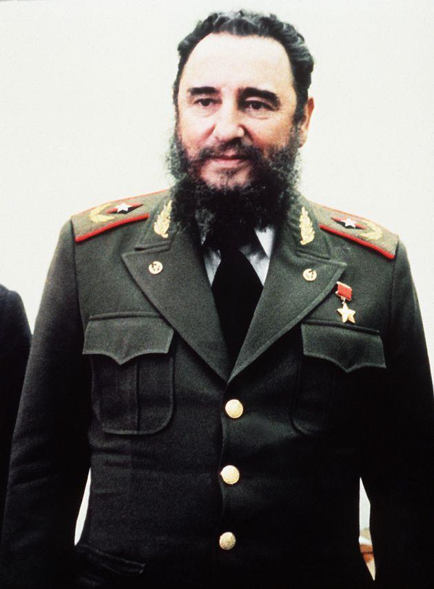 Fidel Castro à Moscou le 26 septembre