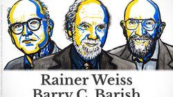 Le prix Nobel de physique 2017 décerné à Raider Weiss, Barry C. Barish et Kip S. Thorne pour l'observation des ondes