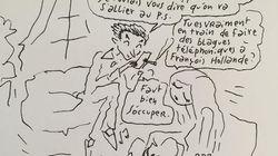 Joann Sfar imagine ce qu'a fait Sarkozy le soir du second