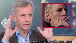 Bernard de la Villardière fume un joint sur M6 et explique dans