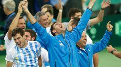 L'Argentine gagne sa première Coupe Davis face à la Croatie dans une ambiance de